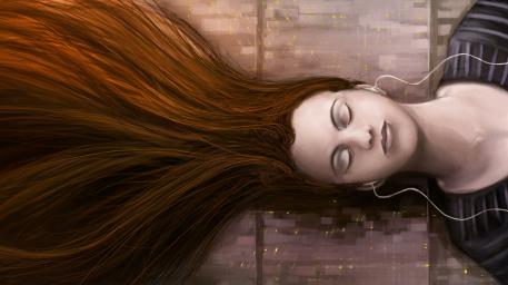 r169_457x256_3803_The_Flow_2d_surrealism_girl_woman_portrait_picture_image_digital_art